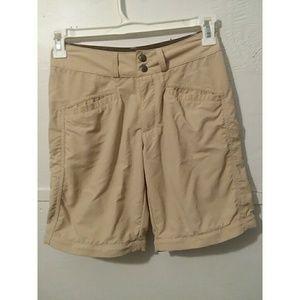 Patagonia Beige Polyamide Double Snap Shorts 6
